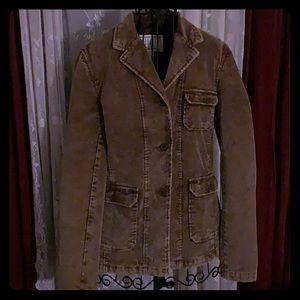 Brown 3 button jacket